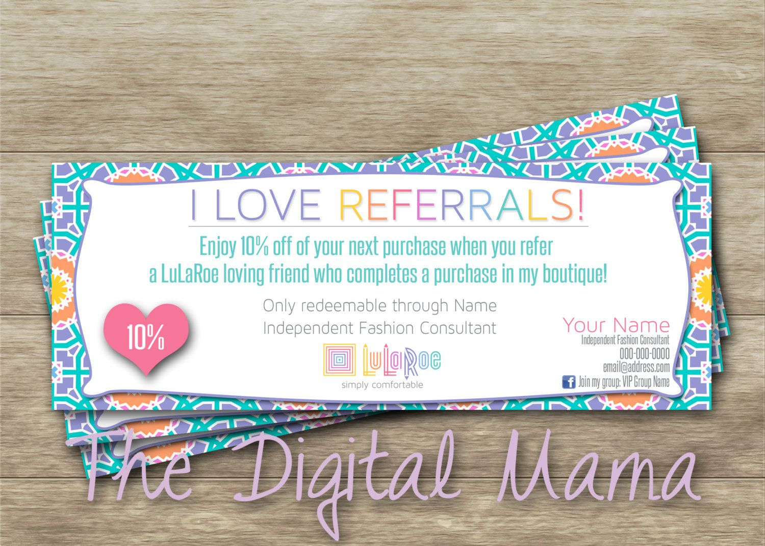 Lularoe Referral Coupon  Lularoe Consulant Coupon  Lularoe