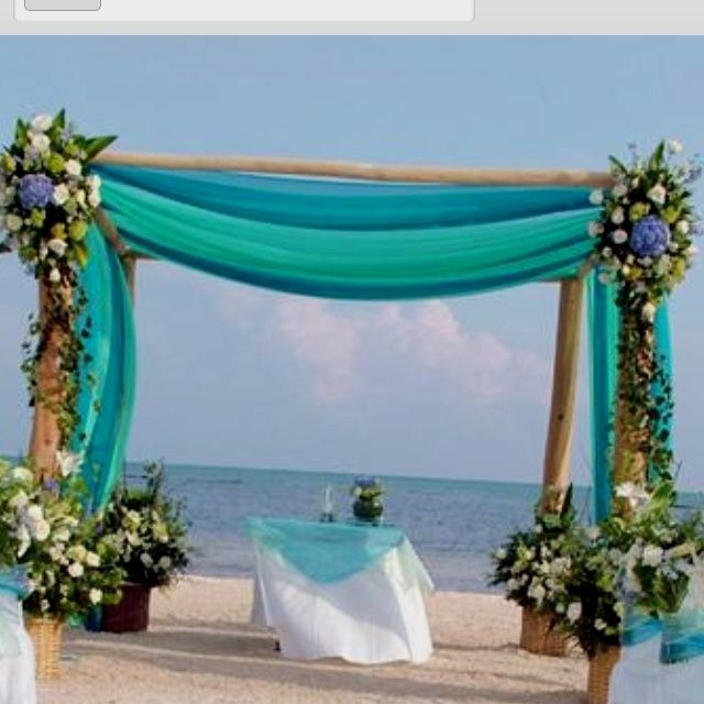 Night Beach Wedding Ceremony Ideas: Thesevl Are The Exact Colors I Want To Use