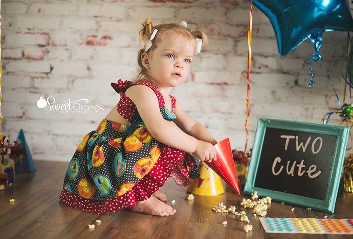 Sweet Orange Photography Two Year Old photos #birthdayparty #sesamestreet #secondbirthday