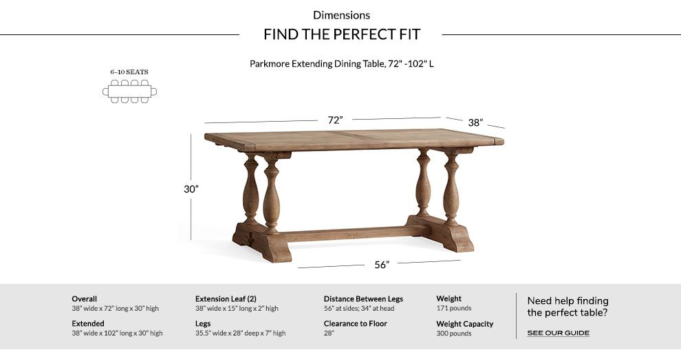 Parkmore Reclaimed Wood Extending Dining Table Dining Table Extendable Dining Table Dining Table Dimensions