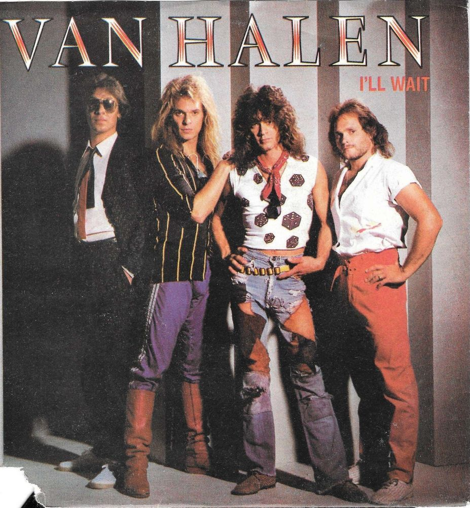 Van Halen I Ll Wait Girl Gone Bad Italian 1984 7 Single W Ps Promo Stamp Rocknrollhardrock Rock Album Covers Classic Rock Albums 80s Rock Bands