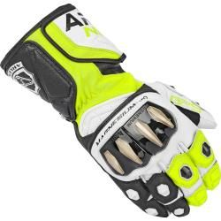 Photo of Arlen Ness Sugello Gloves Black White Yellow Mfc-moto.de