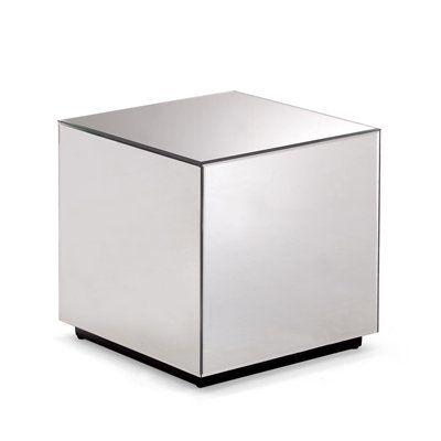 Zuo Modern 850101 Cubo Mirrored Side Table   Lowe's Canada