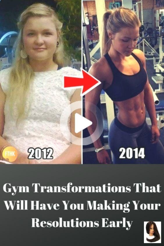 Gym Transformations That Will Have You Making Your Resolutions Early #fitness #fitnessgoals