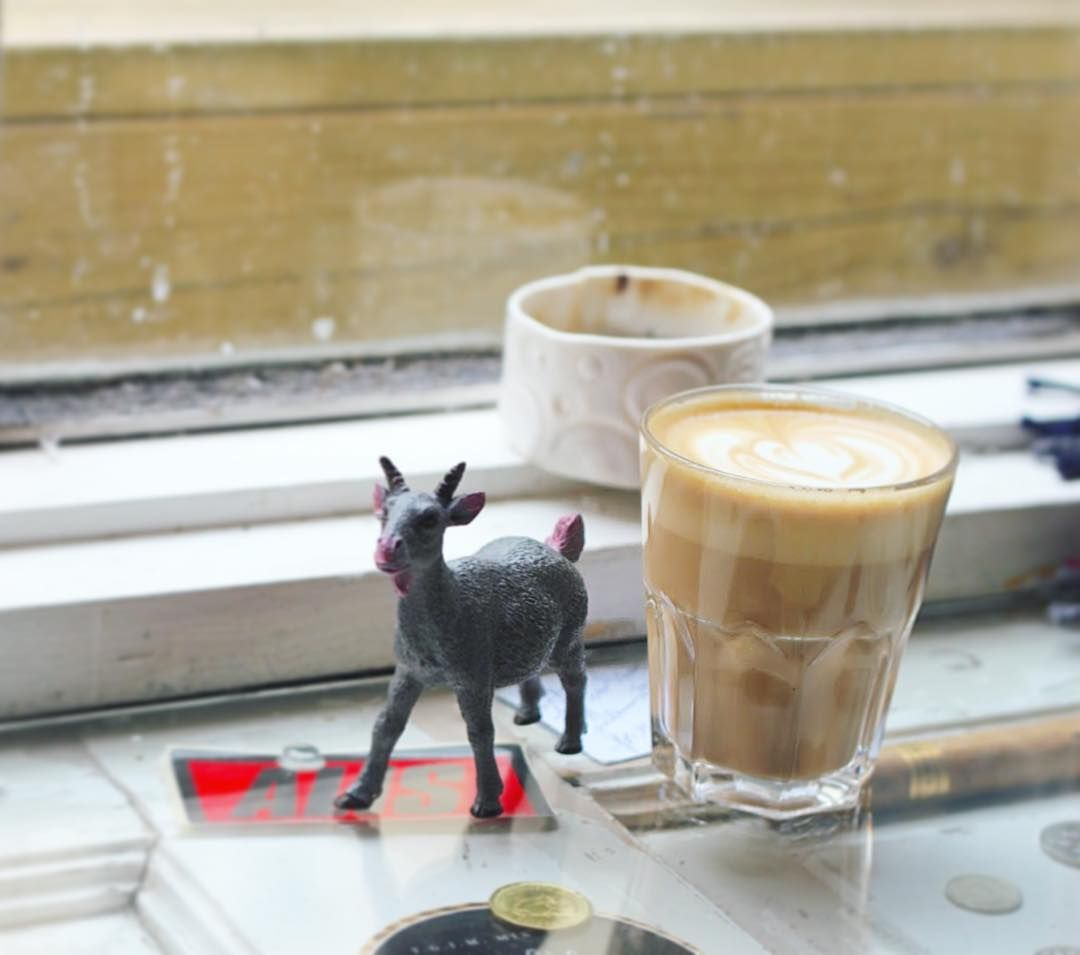 Coffee with a side of kids toy please  by youngeccentric