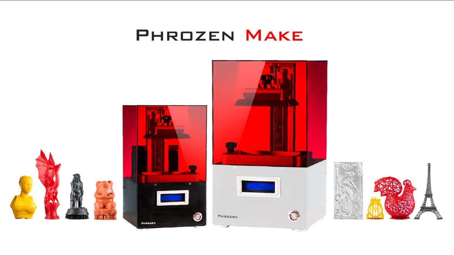 Phrozen make resin 3d printer boasts 2k resolution with lcd lighting phrozen make resin 3d printer boasts 2k resolution with lcd lighting via solidsmack arubaitofo Choice Image