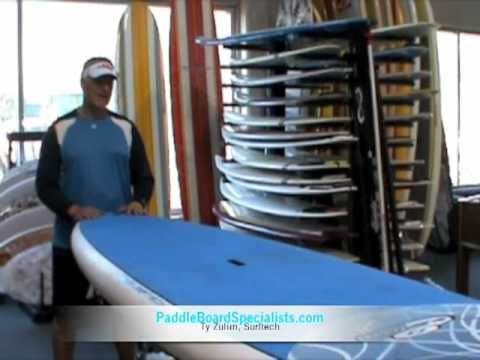 "Surftech's Randy French 10'6"" Stand Up Paddle Board - http://paddleboardsreviews.com/surftechs-randy-french-106-stand-up-paddle-board/"