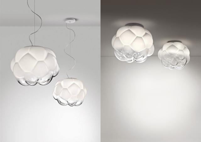 Design do dia: Cloudy Lamp