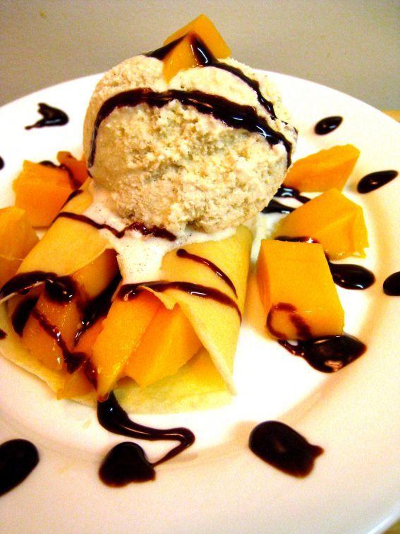 Mango Crepes!