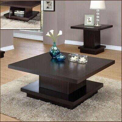 Accent Furniture Espresso for Living Room #coffeetable #moderntable #woodentable #homedecor #homefurniture