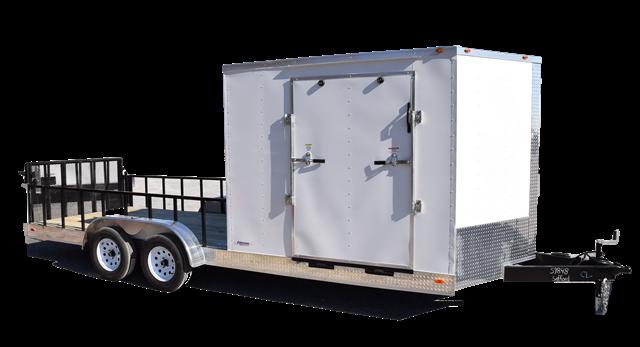 Fr500 Freedom 7x20 Hybrid Enclosed Trailer 7k Safford Equipment Company Enclosed Trailers Cargo Trailers Cargo Hauler