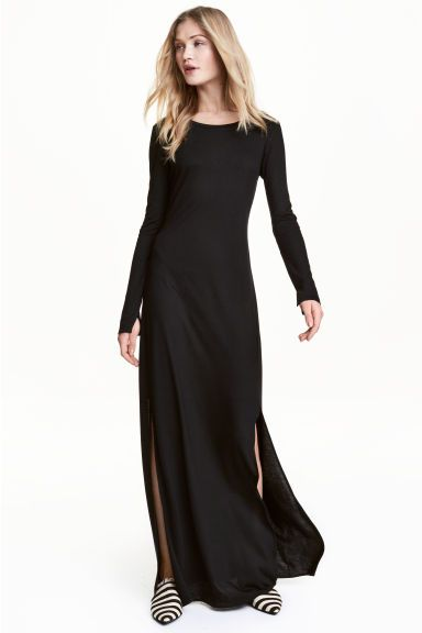 543d81292c67b7a Трикотажное платье-макси | платья | Dresses, Fashion и Dress skirt