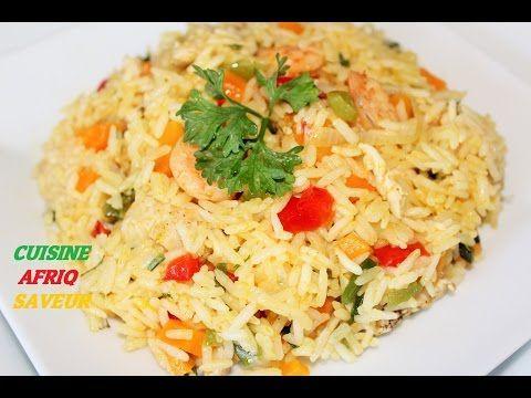 Riz Saute Camer Youtube Recettes De Cuisine Cuisine Africaine