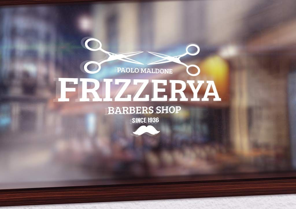 An easy to use shop facade mockup for showcasing logos or other designs psd file