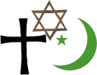Religion This Is A Picture Of The Three Major World Religions - 3 major religions