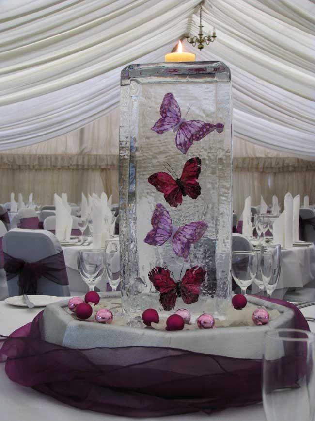 Décoration De Table Papillon