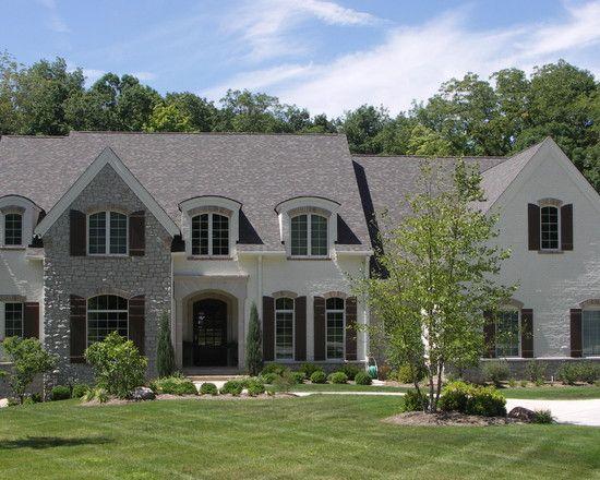 brick stone English Cottage\/French Normandy Pinterest - luxus landhuser