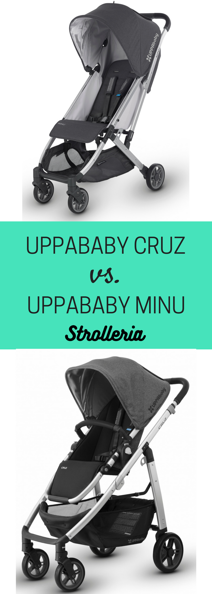 UPPAbaby CRUZ vs. UPPAbaby MINU Stroller Comparison Baby