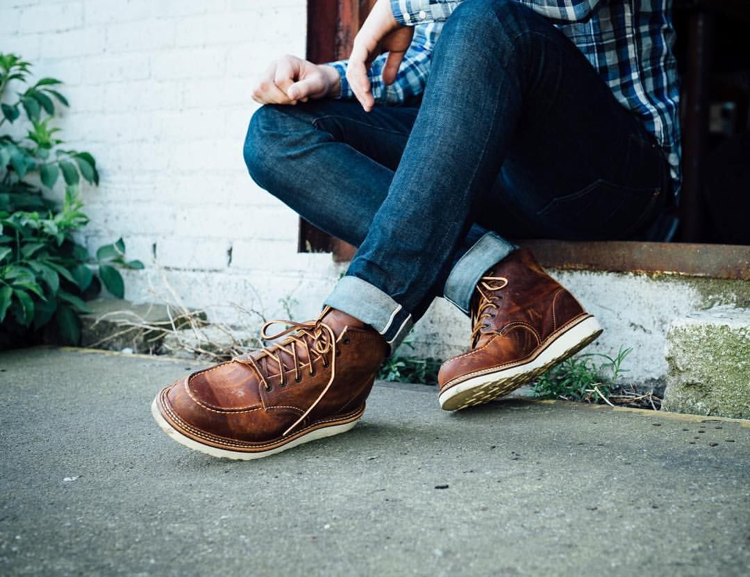 Red Wing Heritage 6 Inch Classic Moc