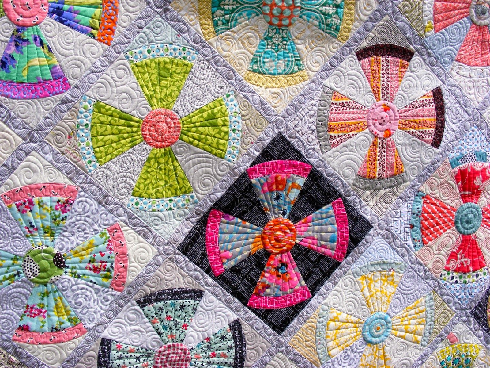 THIS IS THE OFFICIAL STEAM PUNK PATTERN PC | Quilts...Jen Kingwell ... : steampunk quilt pattern - Adamdwight.com