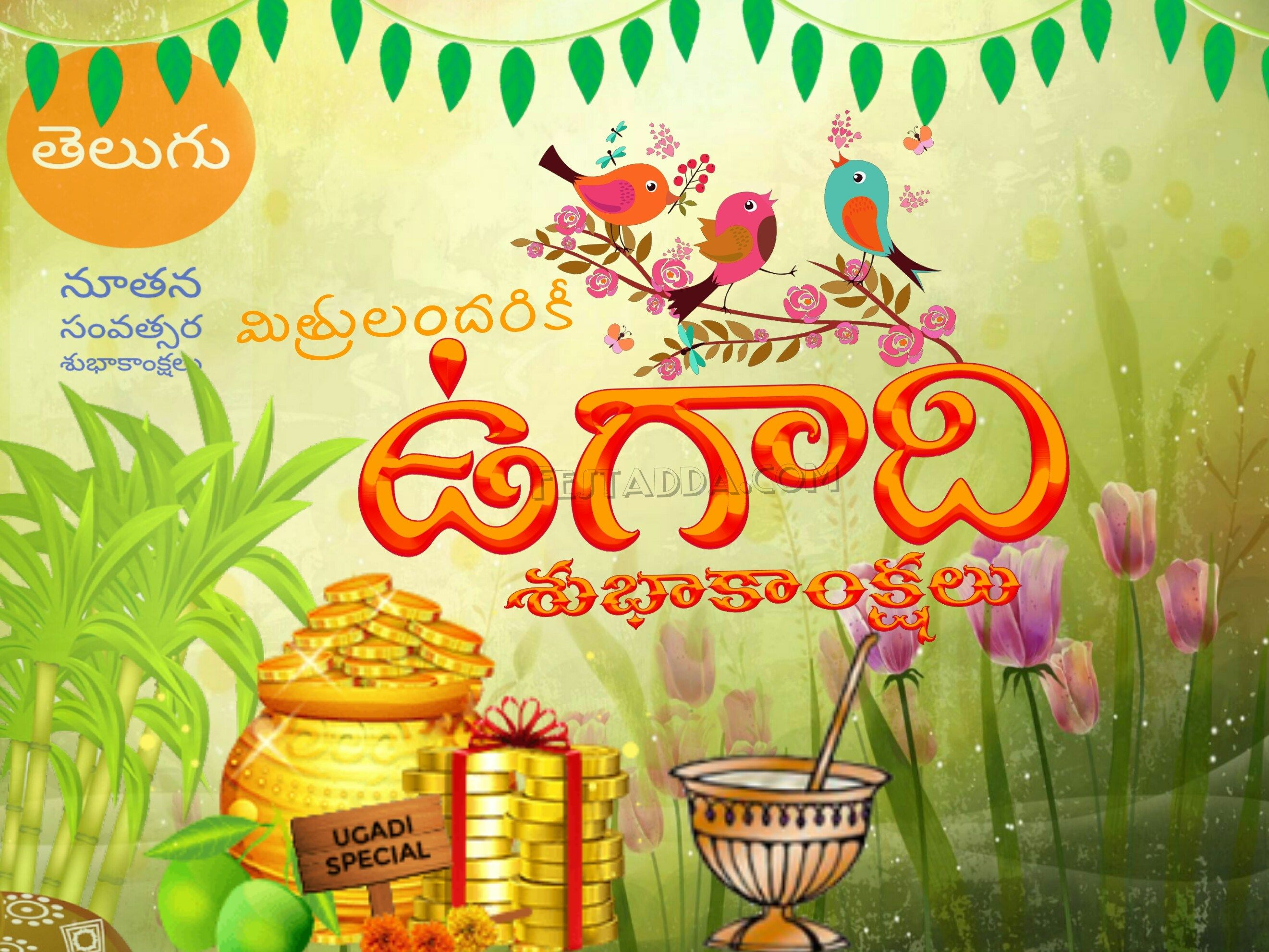 Hearty Welcome To New Year Happy Ugadi 2019 Envius Thoughts
