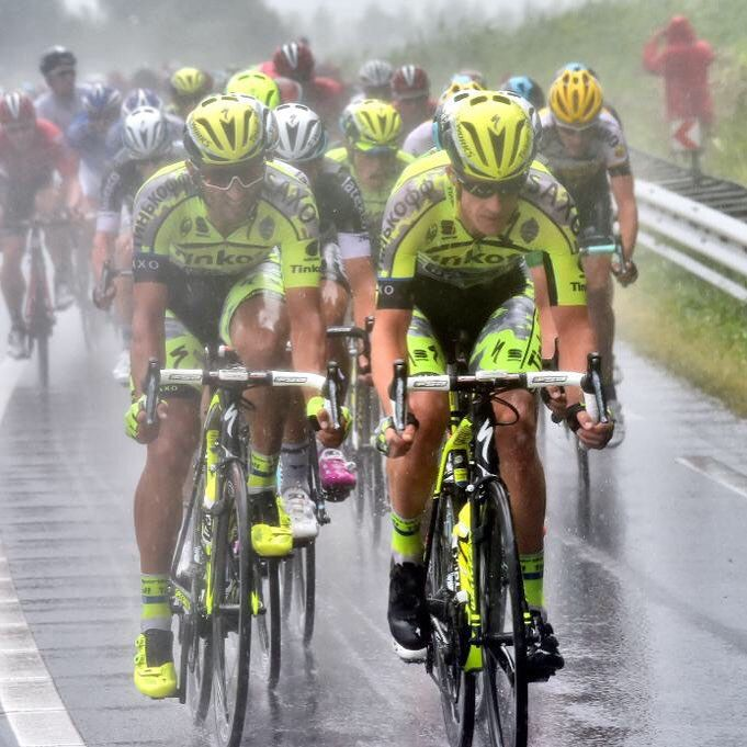 @benna80 and Michael Rogers working hard in a tough and hectic stage
