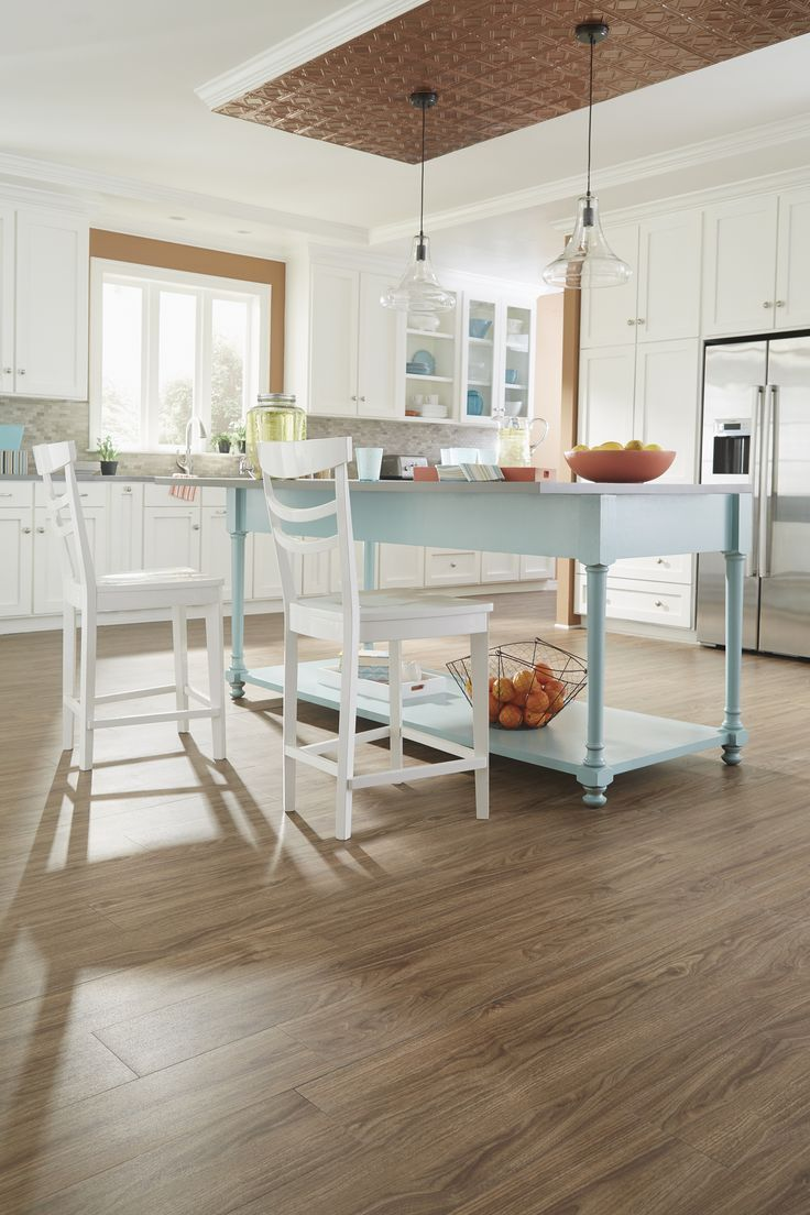 Wood Grain PVC Floor Plank for Family   Kick Ass Kitchen ...