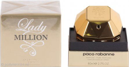 Paco Rabanne Lady Million Absolutely Gold Pure Perfume 80ml Spray