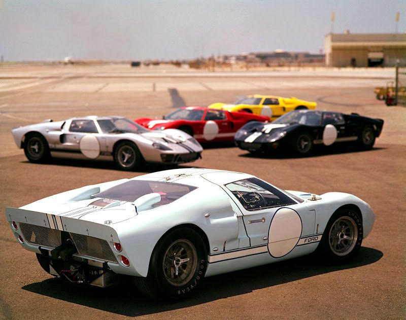 Vintage Coolness From The Ford Archives 1966 Ford Gt Mark Ii