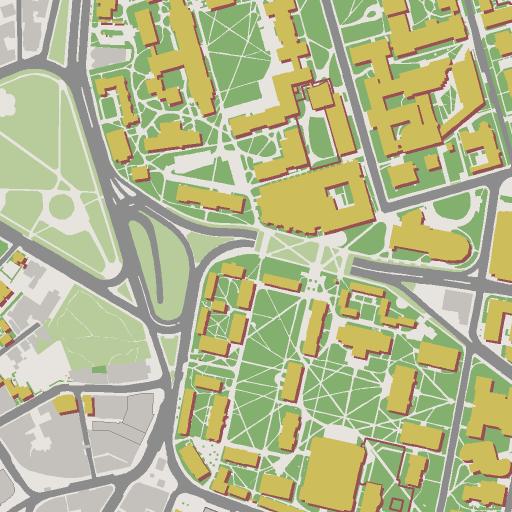 Campus Map Around The Hospital Pinterest - Mt sac campus map