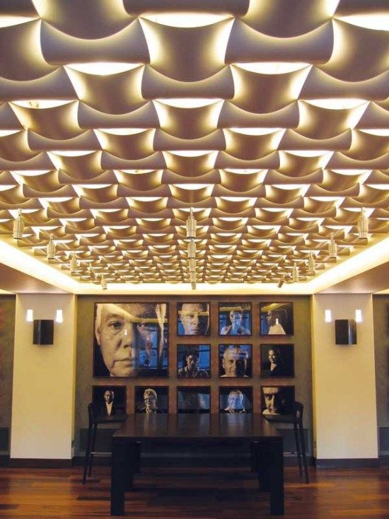Design Innenarchitektur-Wovin Wall Ideen Ceiling Pinterest