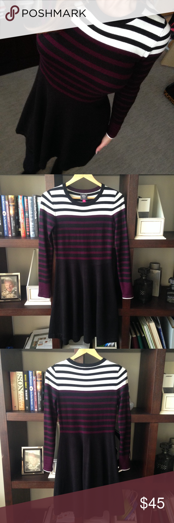8c6eff86221 NWT Vince Camuto Sweater Dress Size XS So chic! Vince Camuto Dresses Long  Sleeve