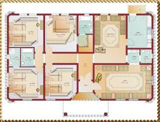 خرائط بيوت تصاميم بيوت بسيطة مخططات بيوت صور بيوت تصاميم شقق تصاميم بيوت من الداخل تصاميم منازل تصاميم فلل House Plans Floor Plans How To Plan
