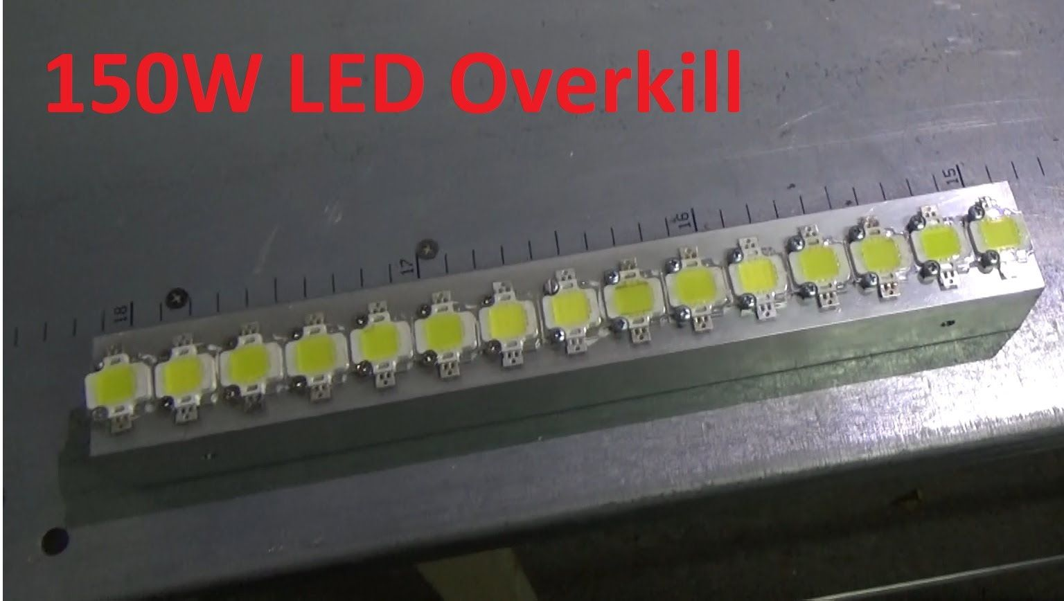 Diy Monster 15 X 10w Led Strip Overkill Led Tape Lighting High Power Led Lights Led
