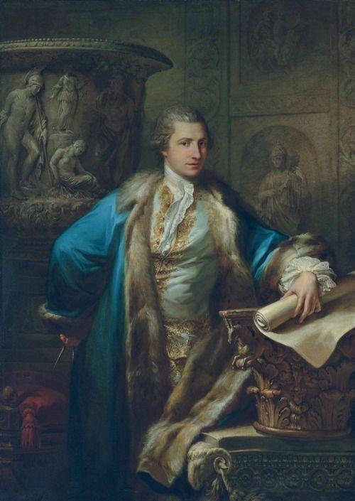 James Adam. Antonio Zucchi, 1763.