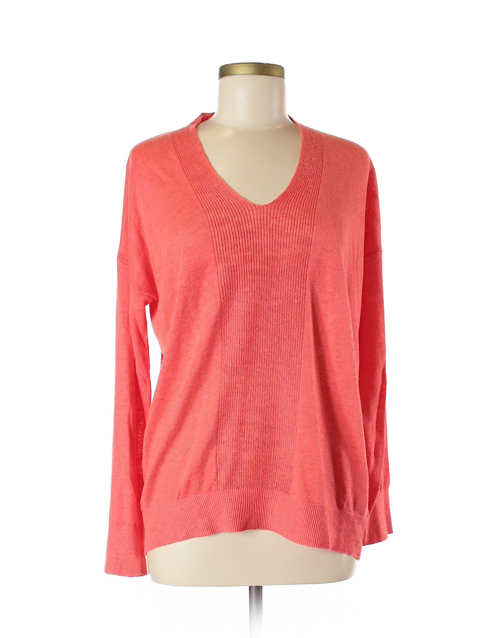 Banana Republic Pullover Sweater Size 800 Coral Womens Tops