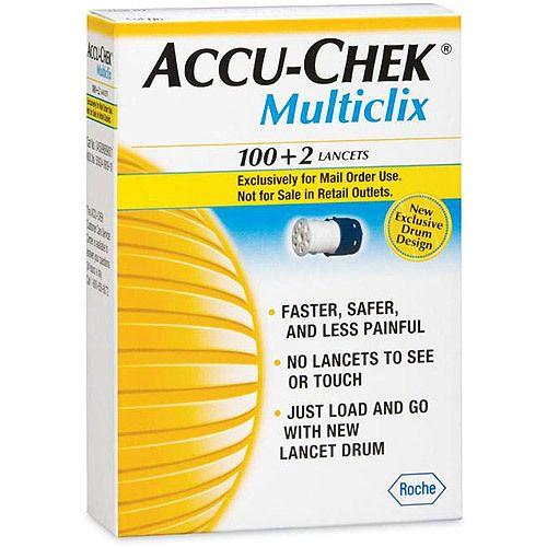 Accu-Chek MultiClix Lancets, $11.50
