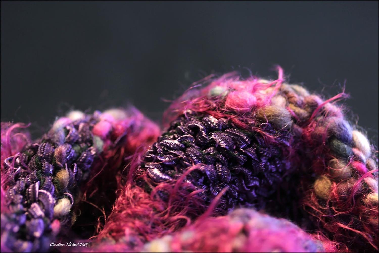 Snood (detail) Photographe:Claudine Mistral