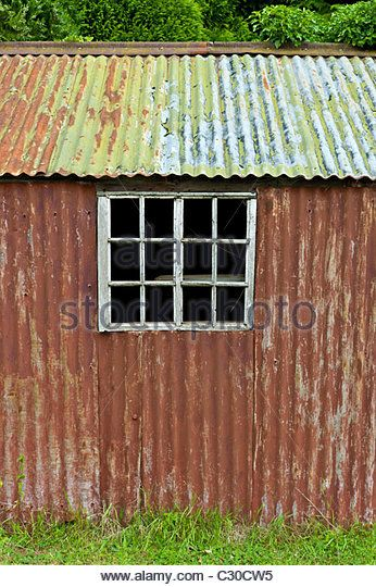 Corrugated Metal Shed Stock Photos Corrugated Metal Shed Stock Images Metal Shed Shed Cladding Tin Shed