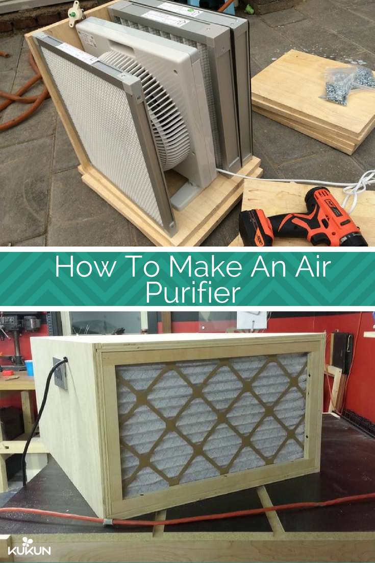 diy how to make a budget air purifier for your home | diy