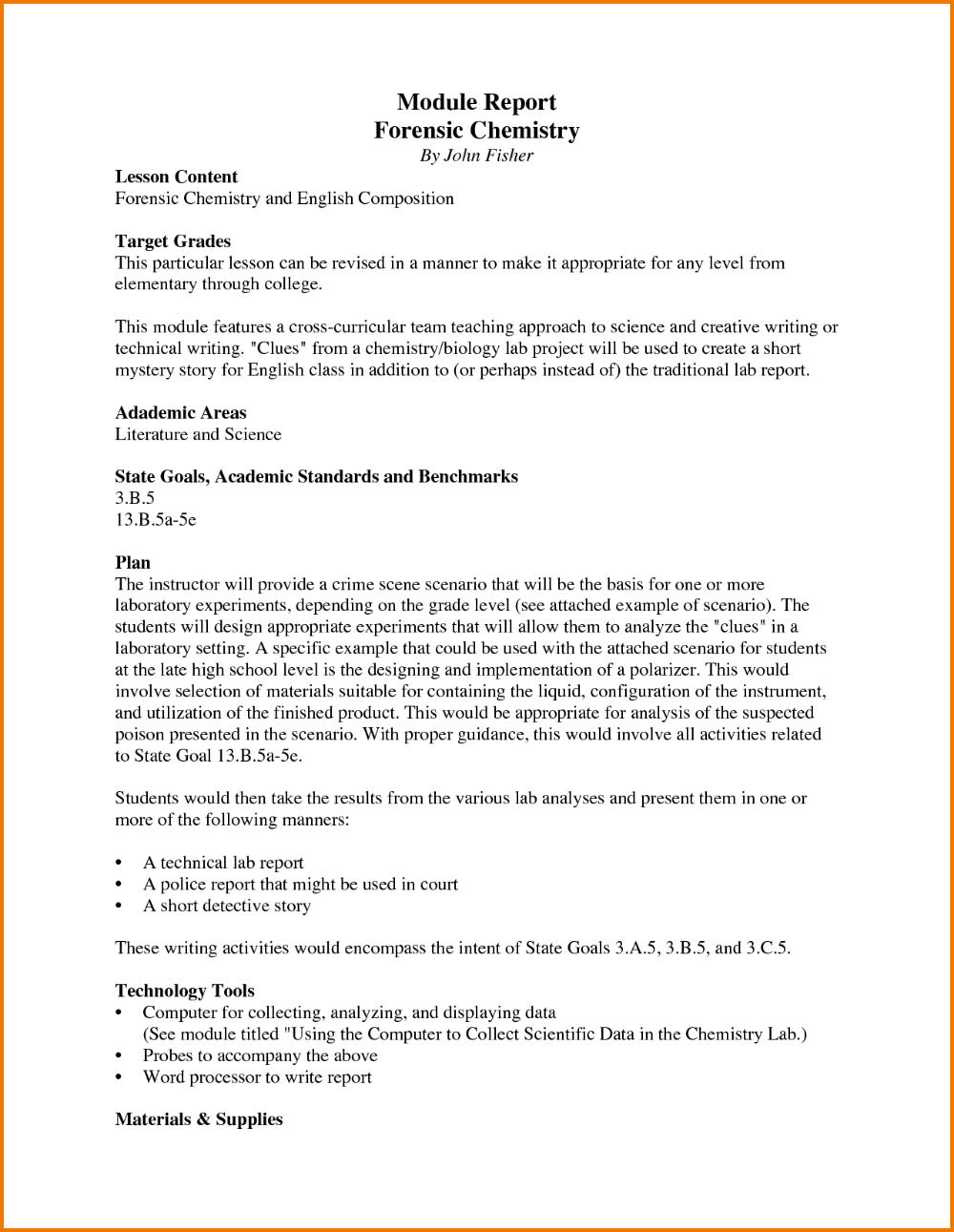 Technical Report Writing Help; Technical Report Writing