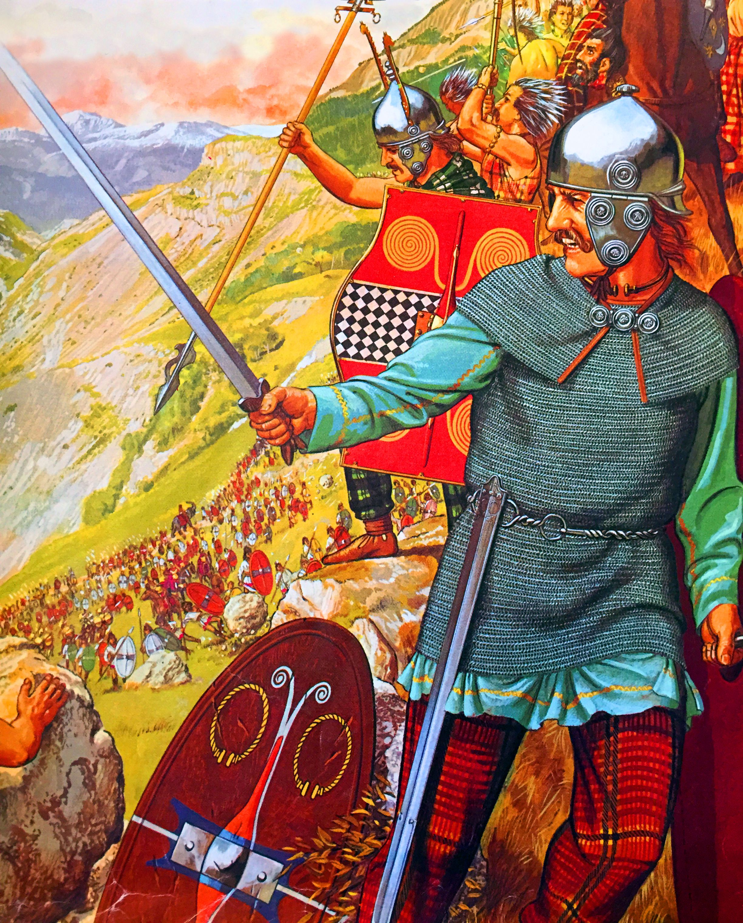 the gallic war One of the most important historical records left by the romans, julius caesar's  commentaries on the gallic war is made reader-friendly by olivia coolidge.