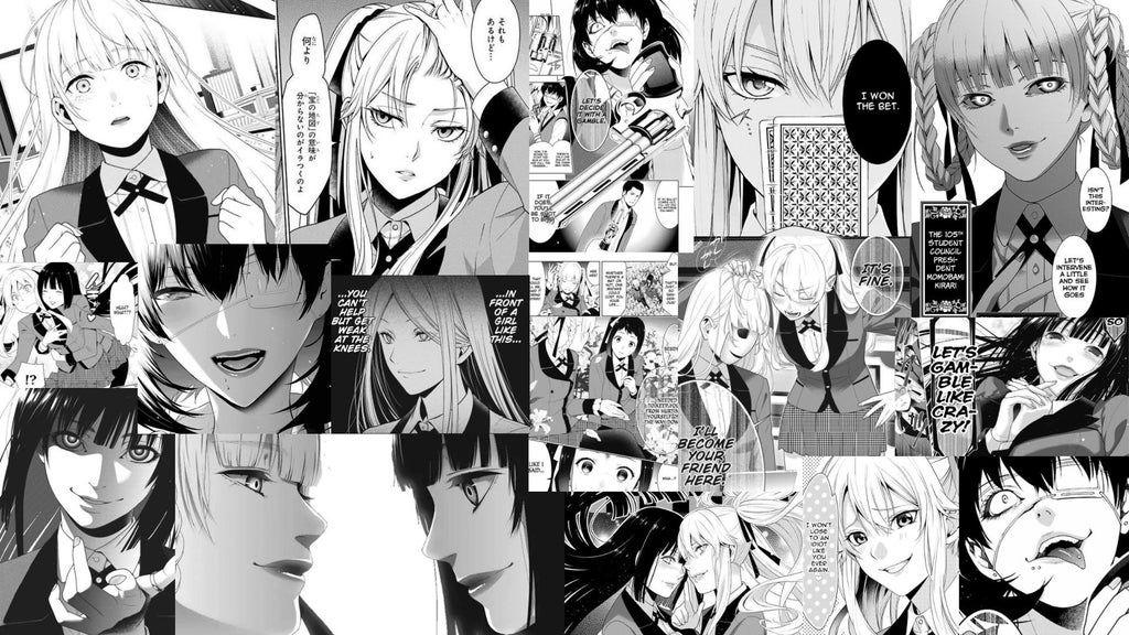 Made A Wallpaper For My Computer Kakegurui Cute Anime Wallpaper Anime Backgrounds Wallpapers Anime Computer Wallpaper Cute anime manga wallpaper