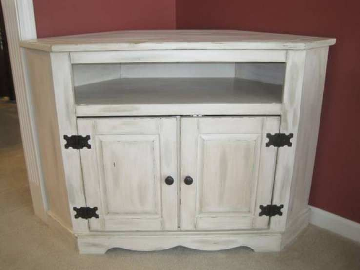Shabby Chic Corner Tv Stand Google Search Swivel Stand For Tv