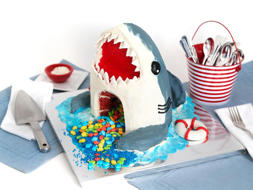 How to Make a Showstopping Shark Cake