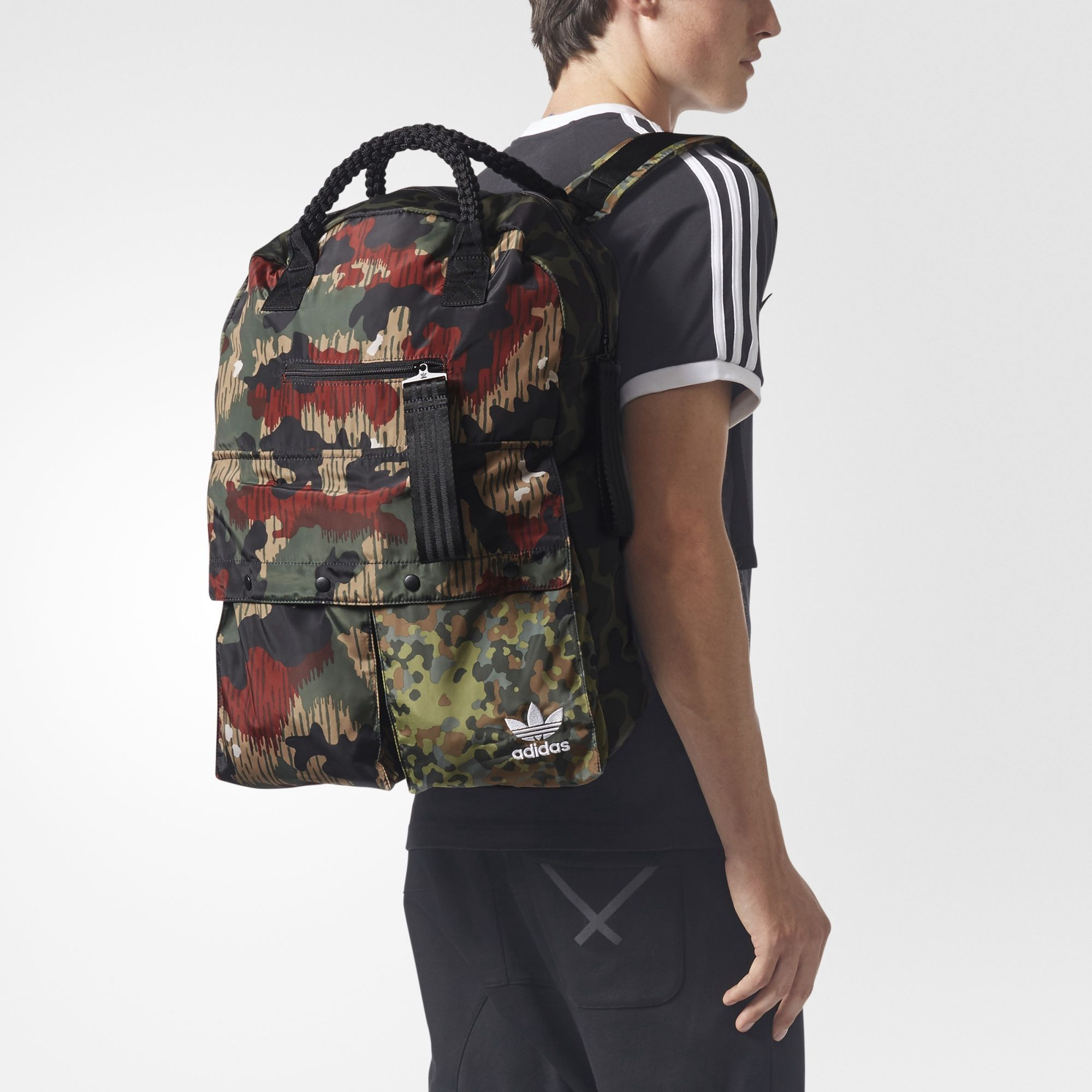 brand new cc84b 31e52 ADIDAS ORIGINALS Pharrell Williams Hu Hiking Backpack.  adidasoriginals   bags  backpacks