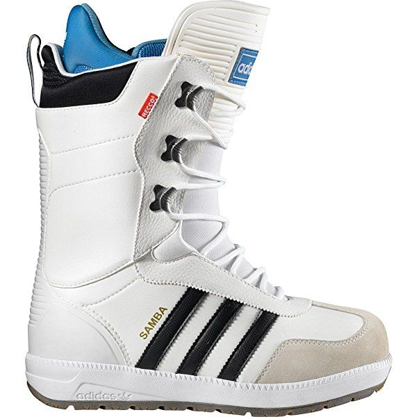 Adidas 2014 The Samba (White/Black/Bluebird) Snowboard Boots