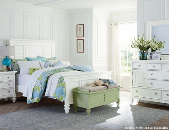 Bedroom Sets Art Van breeze white 3pc queen bedroom - art van furniture | bedroom