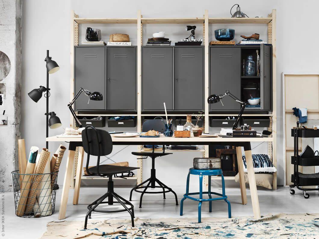 Zet de muur in de woonkamer in de picture | IKEA IKEAnl ...
