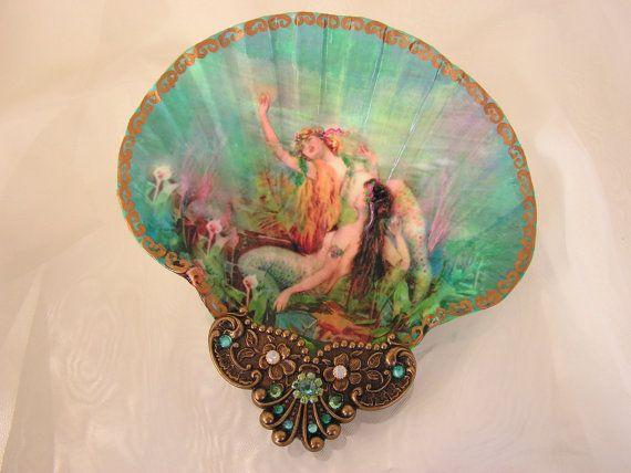 Shell Jewelry Dish